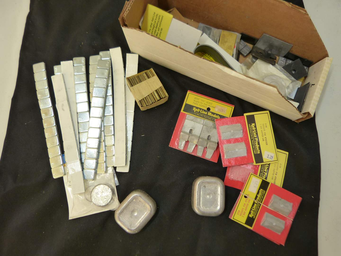 Lot # 251  Lot of HO Train accessories (if you are a train person check out all the lots)