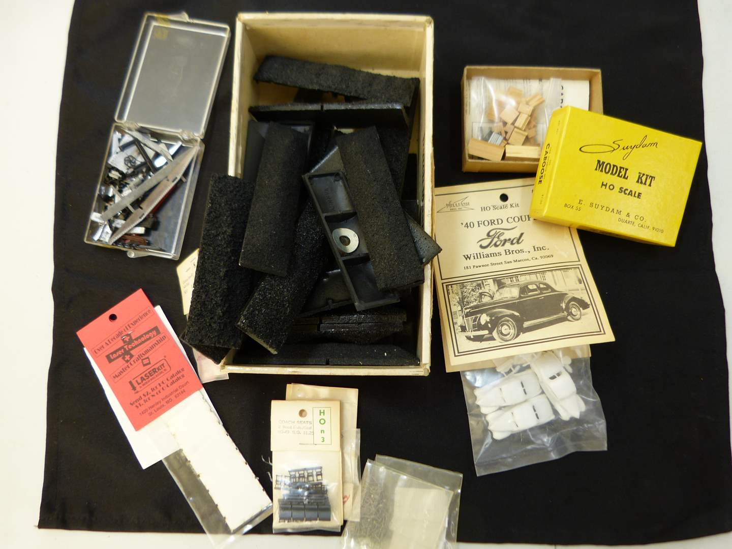 Lot # 252  Lot of HO Train accessories (if you are a train person check out all the lots)