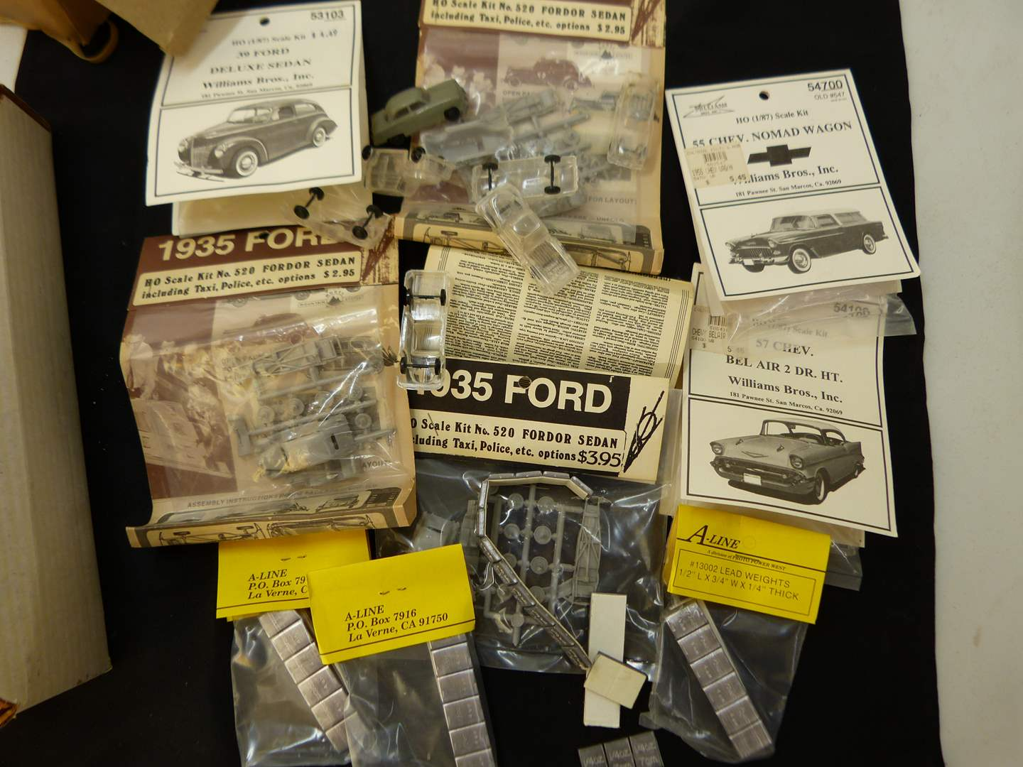 Lot # 253  Lot of HO Train accessories (if you are a train person check out all the lots)