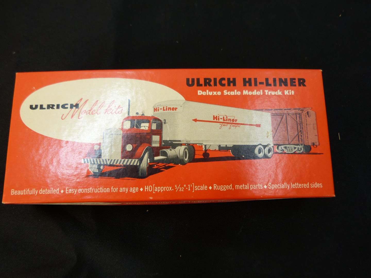 Lot # 258   New never put together HO train truck accessory (main image)