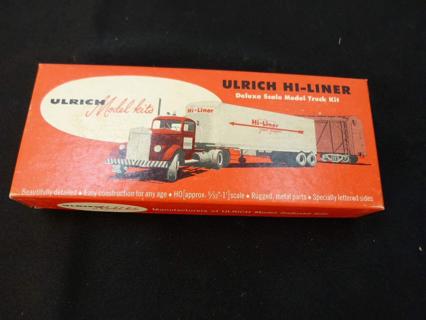 Lot # 259   New never put together HO train truck accessory (main image)