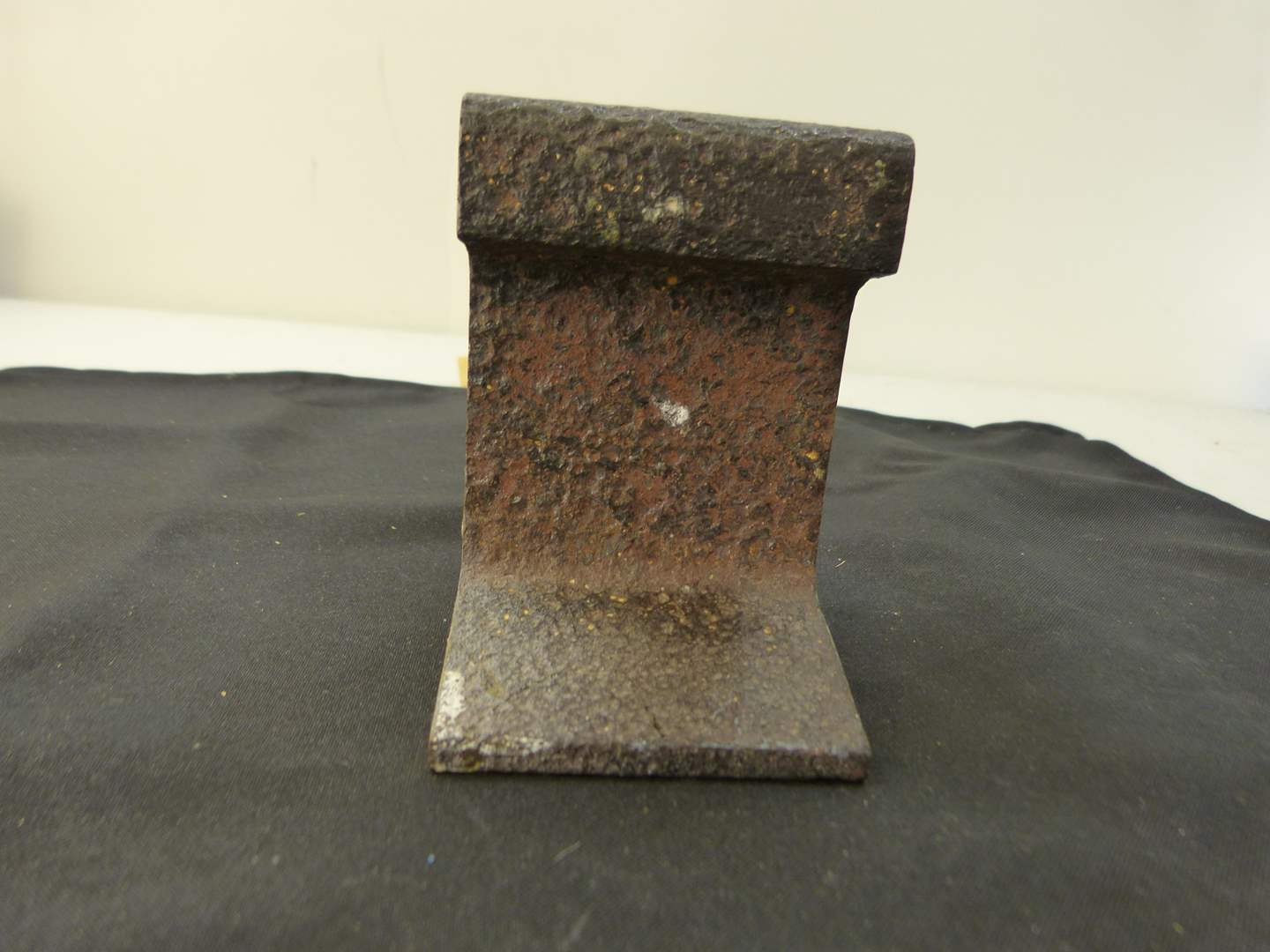 Lot # 264  AWESOME CHUNK cut authentic railroad track
