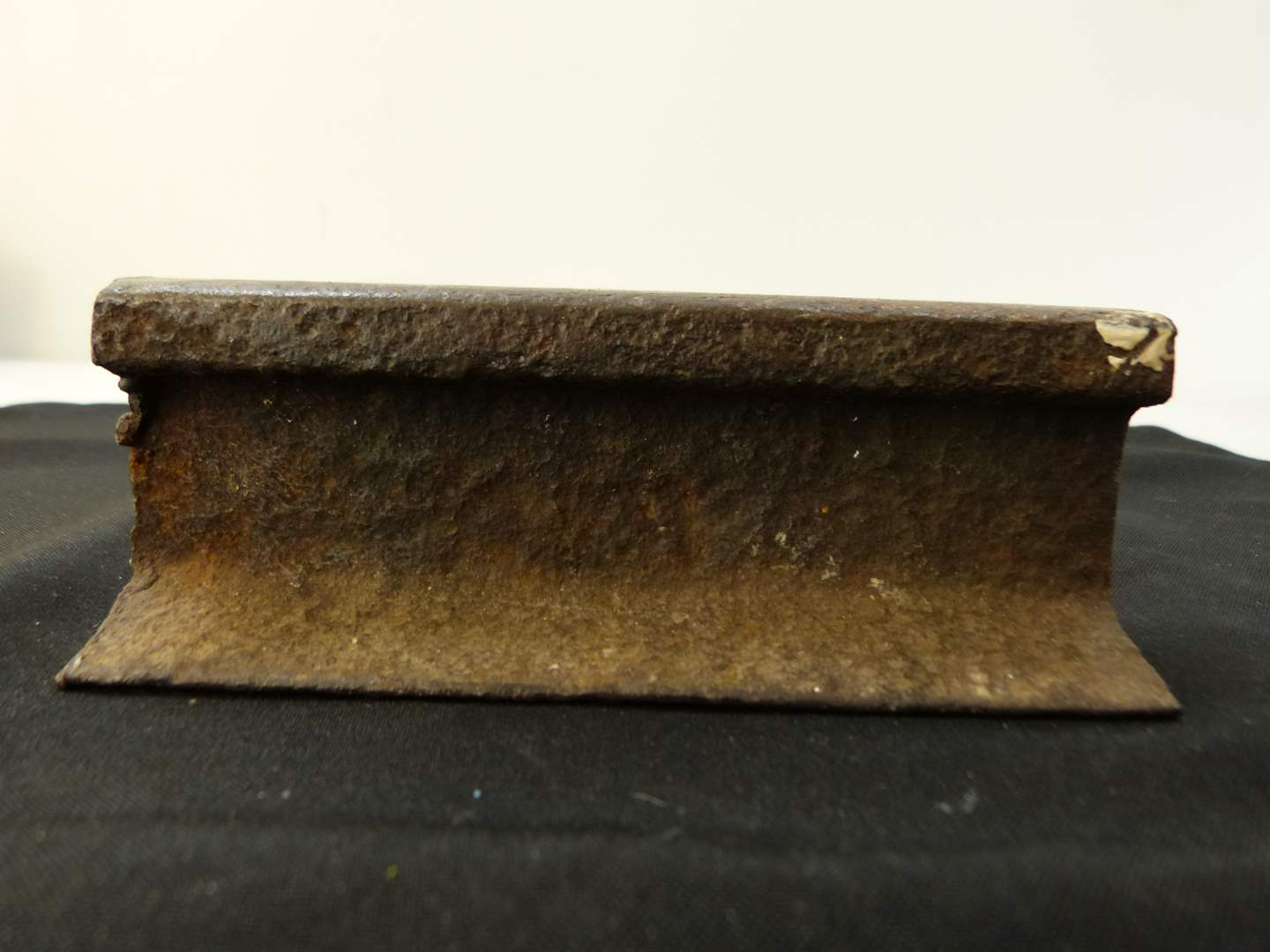 Lot # 265  AWESOME CHUNK cut authentic railroad track