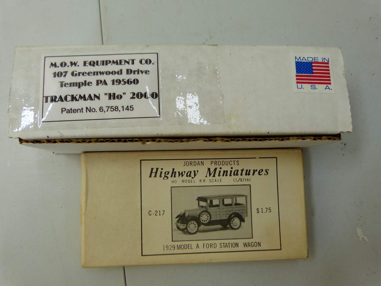 Lot # 291  HO train accessories NEW (main image)