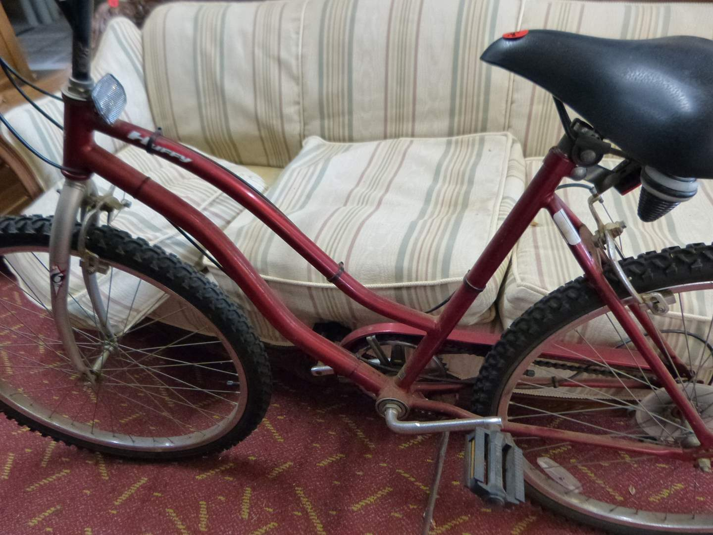 Lot # 296  Vintage Huffy Comfort Sport bicycle