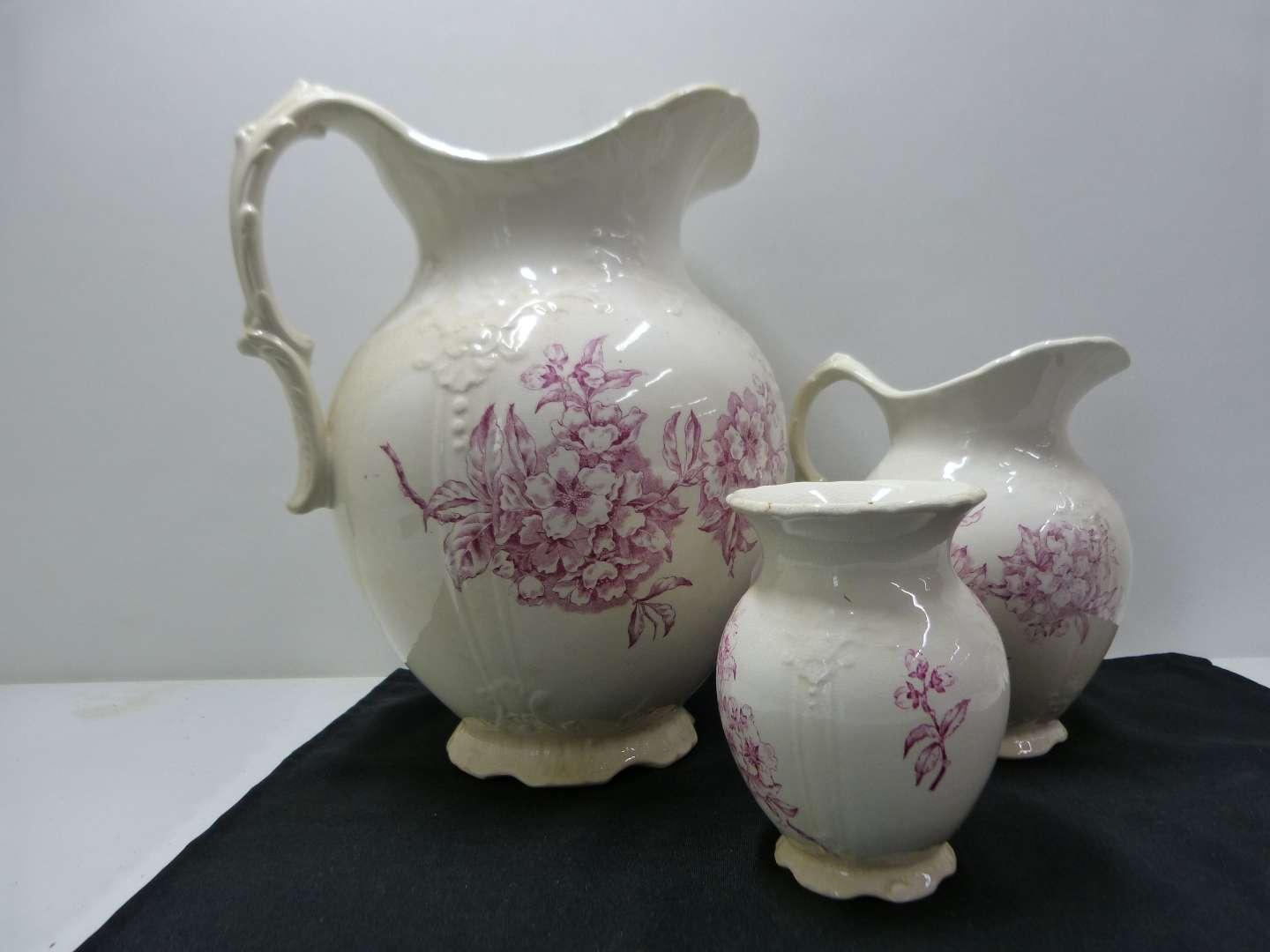 Lot # 134  Nice collection of Made in England porcelain (shows its age)