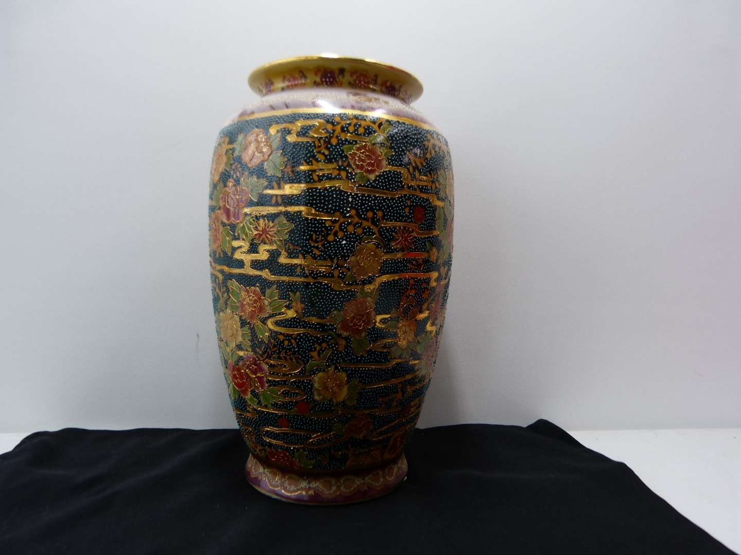 """Lot # 96  Large Made in China 12"""" vase (AMAZING colors)"""