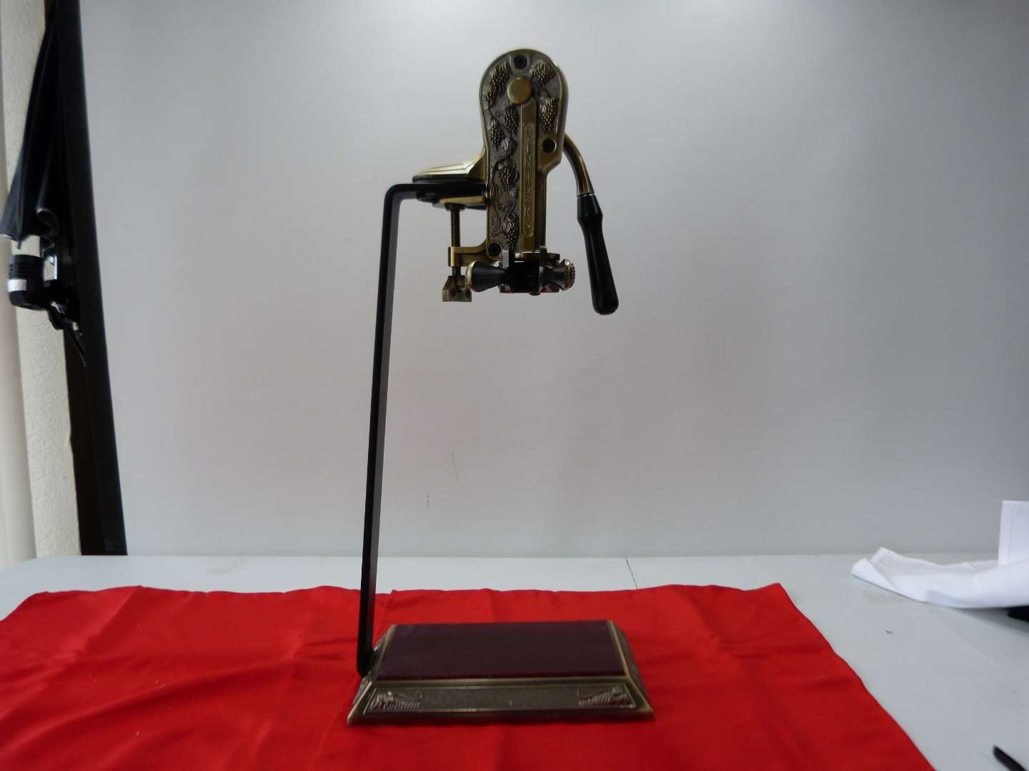 Lot # 18  Large commercial style wine opener