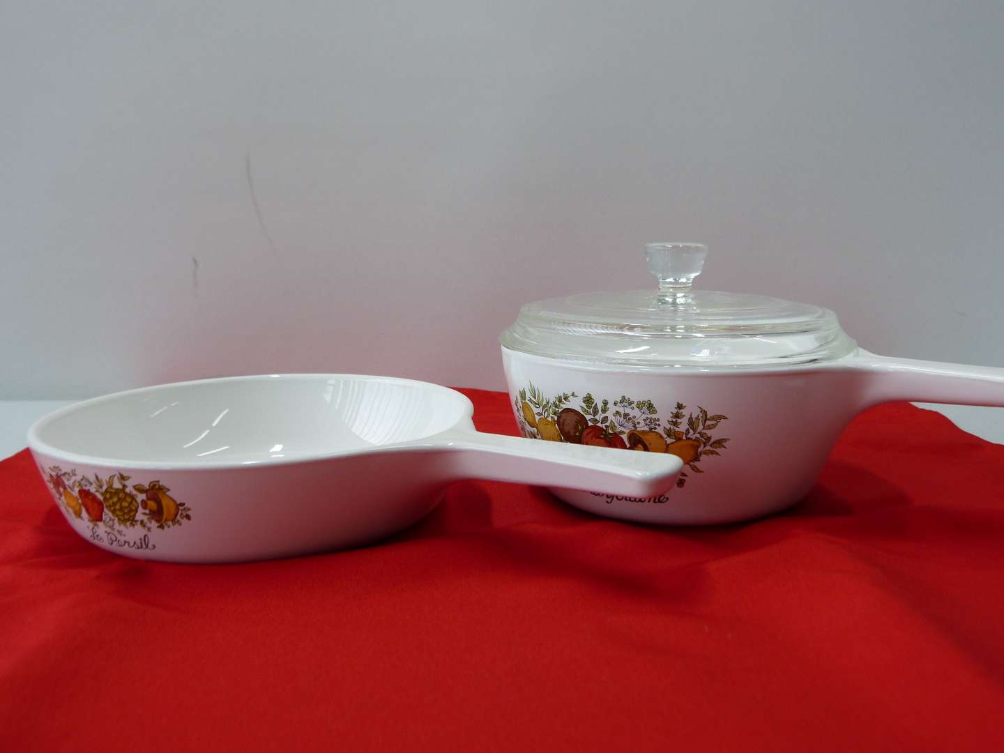 Lot # 38  Collection of Corning ware