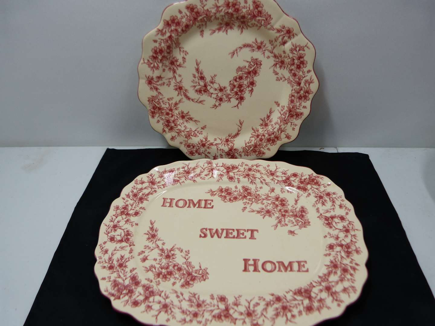 Lot # 125  Nice collection of red porcelain