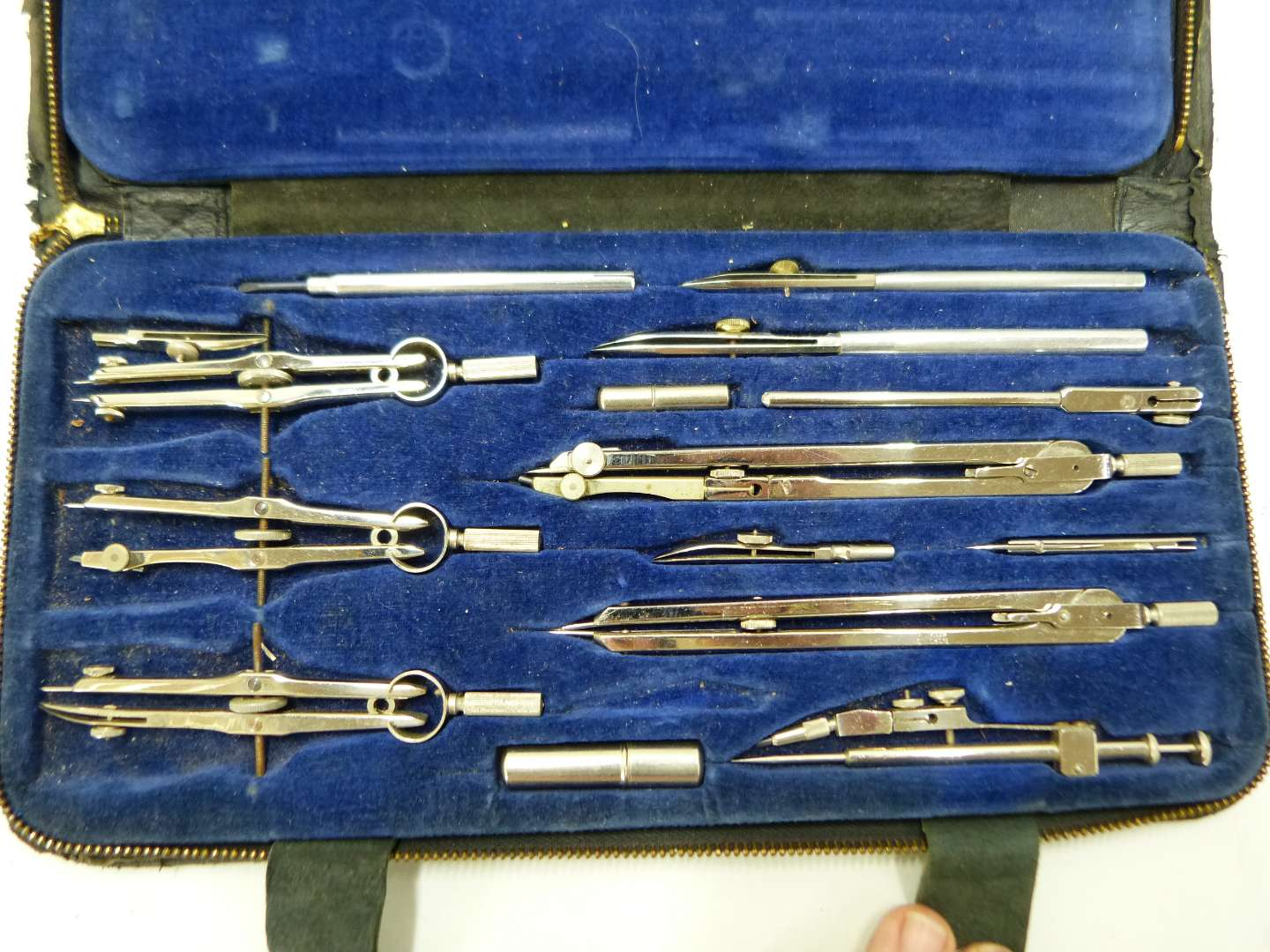 Lot # 182  Great made in Germany drafting kit