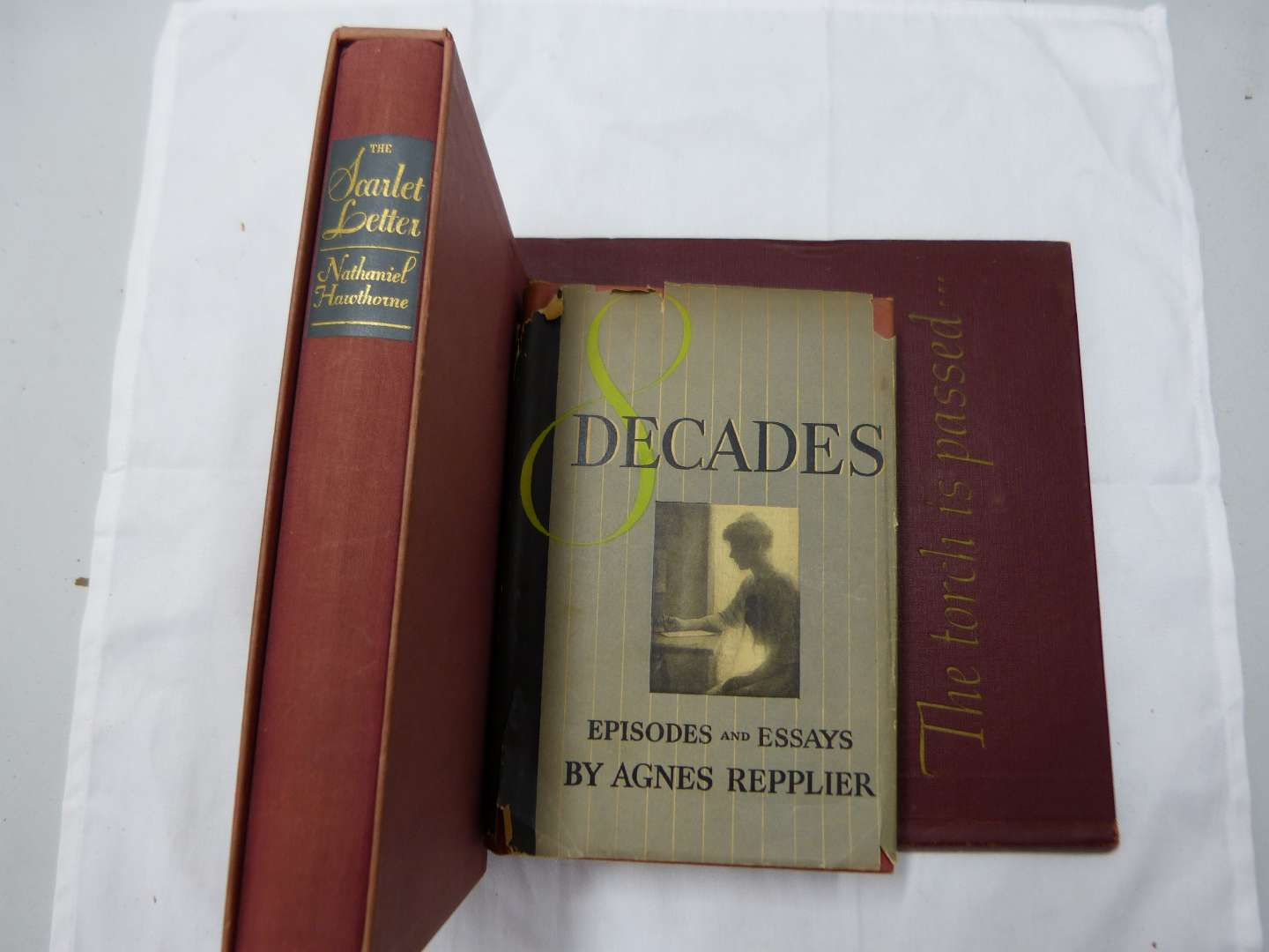 Lot # 193  Great lot of antique books