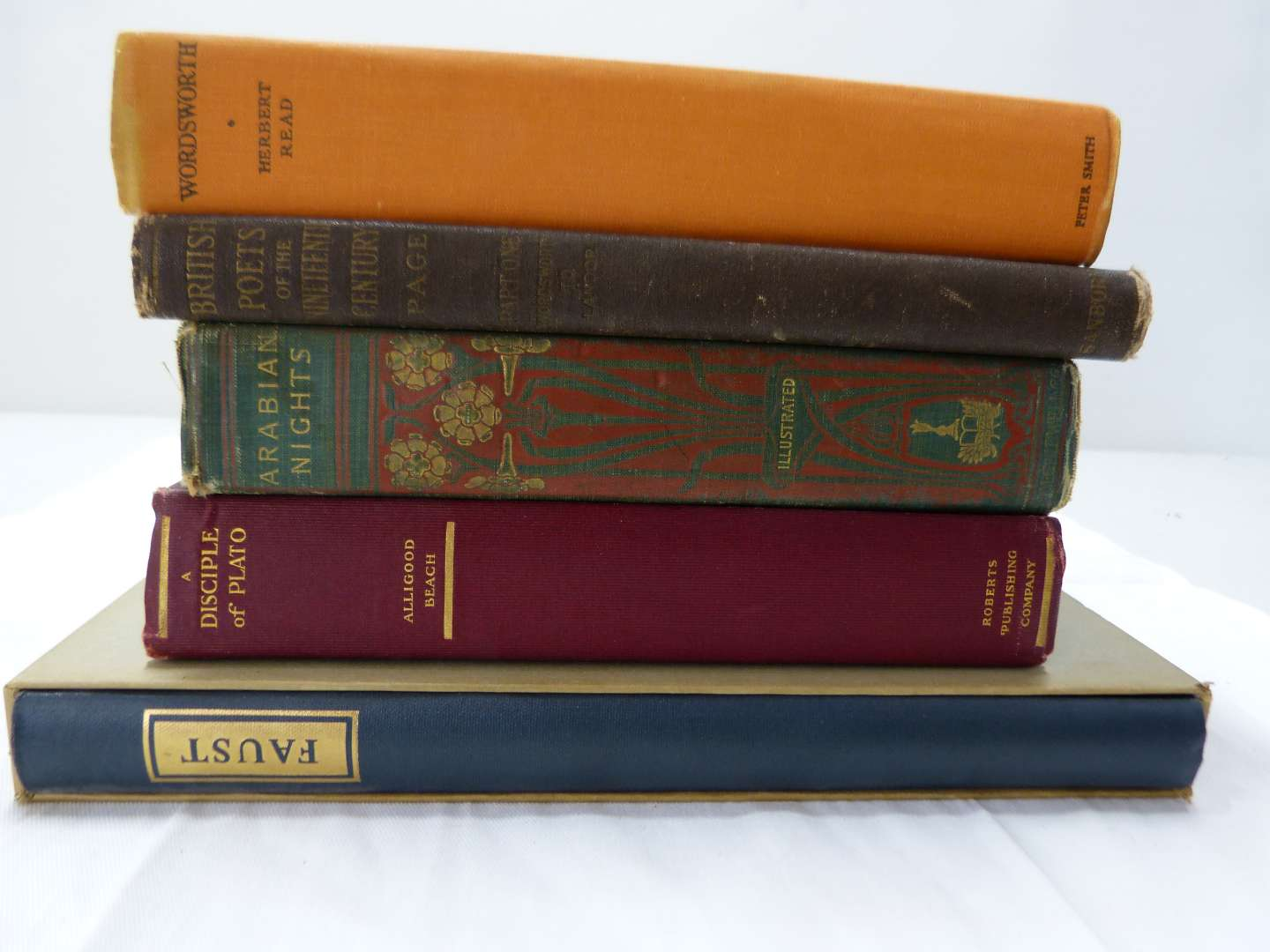 Lot # 195  Great lot of antique books