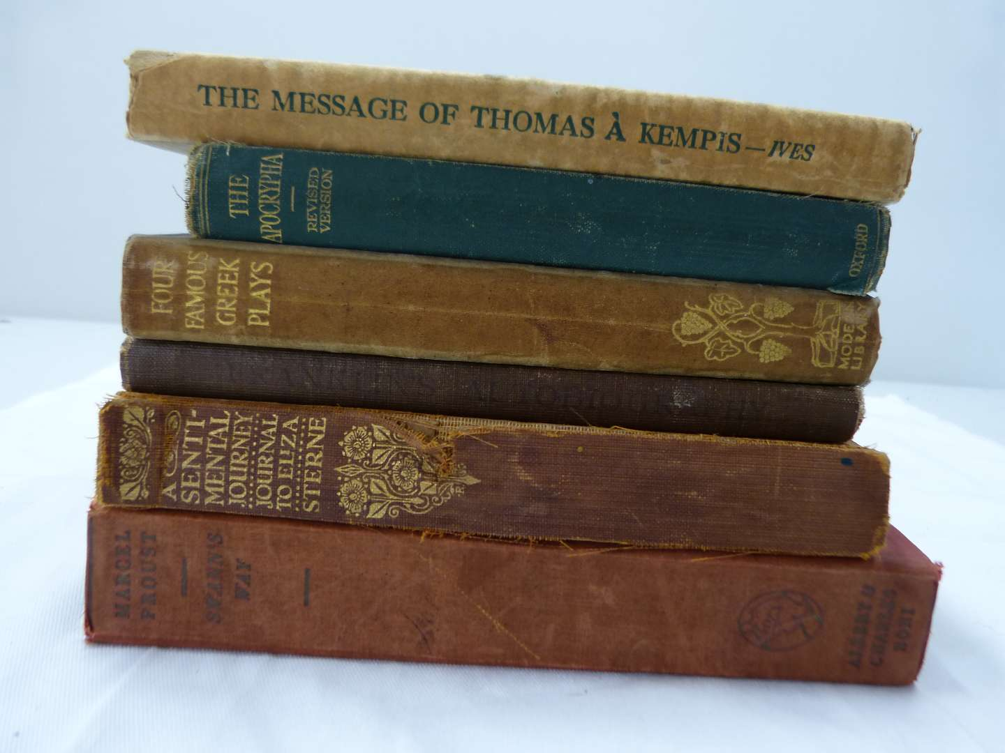Lot # 196  Great lot of antique books