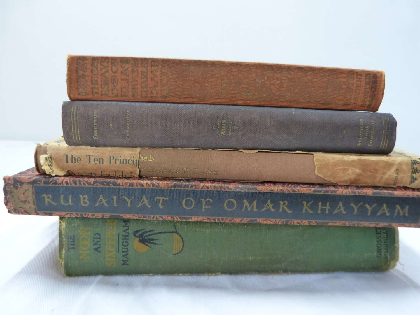 Lot # 198  Great lot of antique books