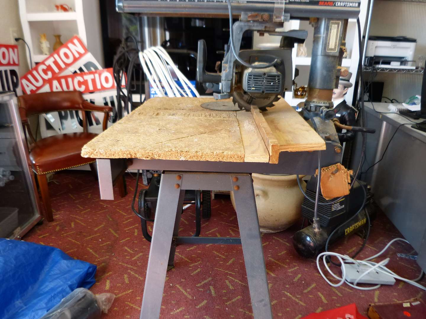 """Lot # 297  Craftsman 801/4"""" radial saw (used but not abused) model # 113.234700"""