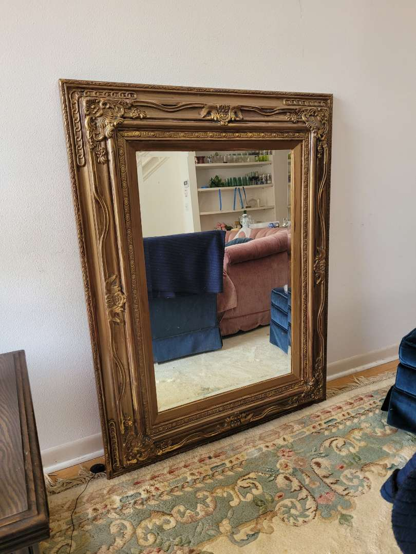 Lot # 18 Very Large Wall Mirror