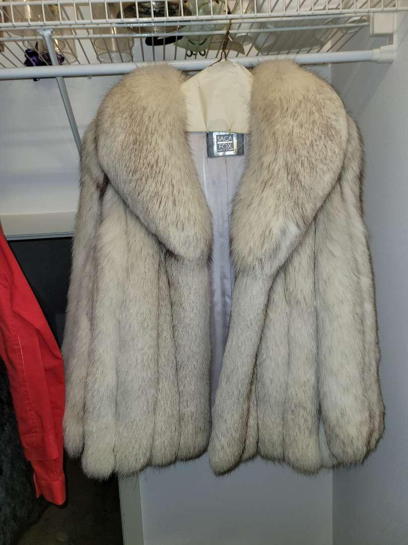 Lot # 25 Vintage Authentic Fox Fur Coat