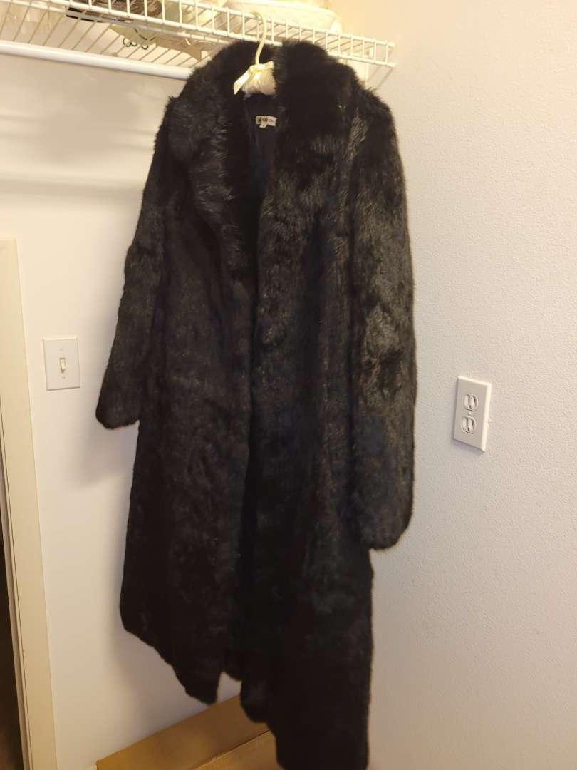 Lot # 26 Vintage Authentic Rabbit Fur Jacket