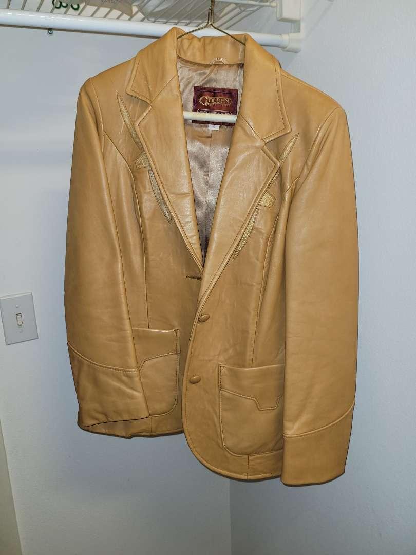 Lot # 27 Vintage Leather Golden Pioneer Jacket