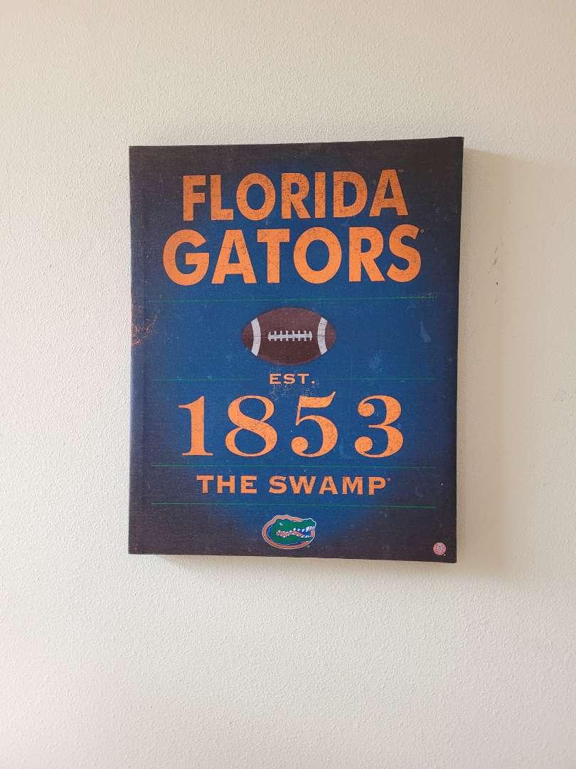 Lot # 41 Florida Gators Wall Art