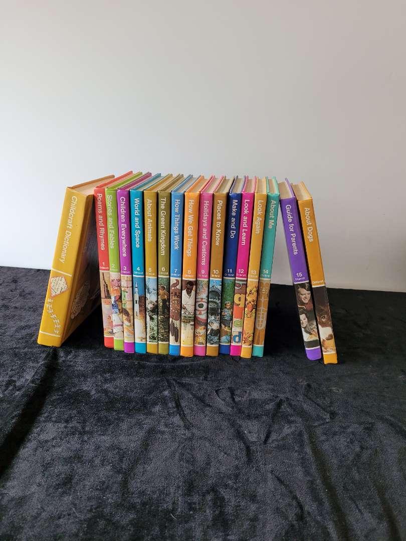 Lot # 47 Set of 17 Childcraft Hardcover Books