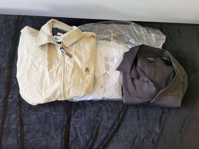 Lot # 48 (3) Mens Dress Shirts