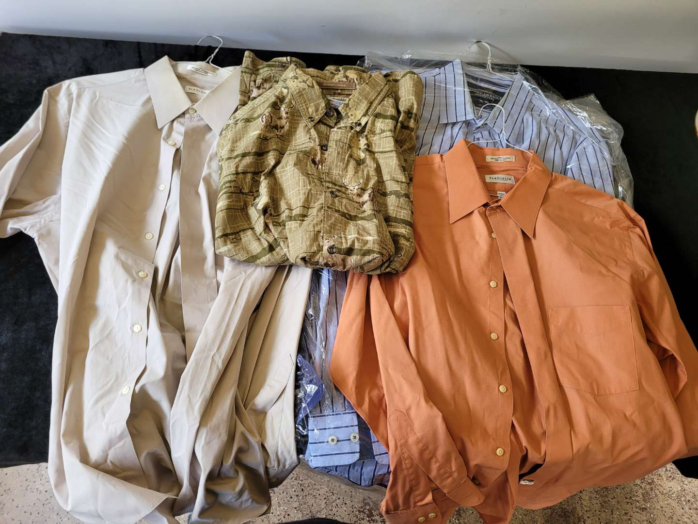 Lot # 49 (5) Assorted Mens Dress Shirts - Size XL