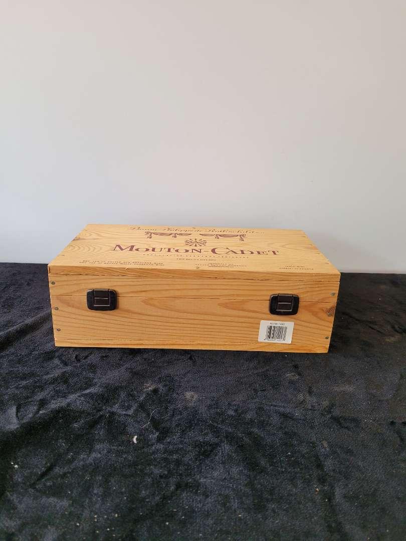 Lot # 65 Nice Mountain Cadet Wood Box