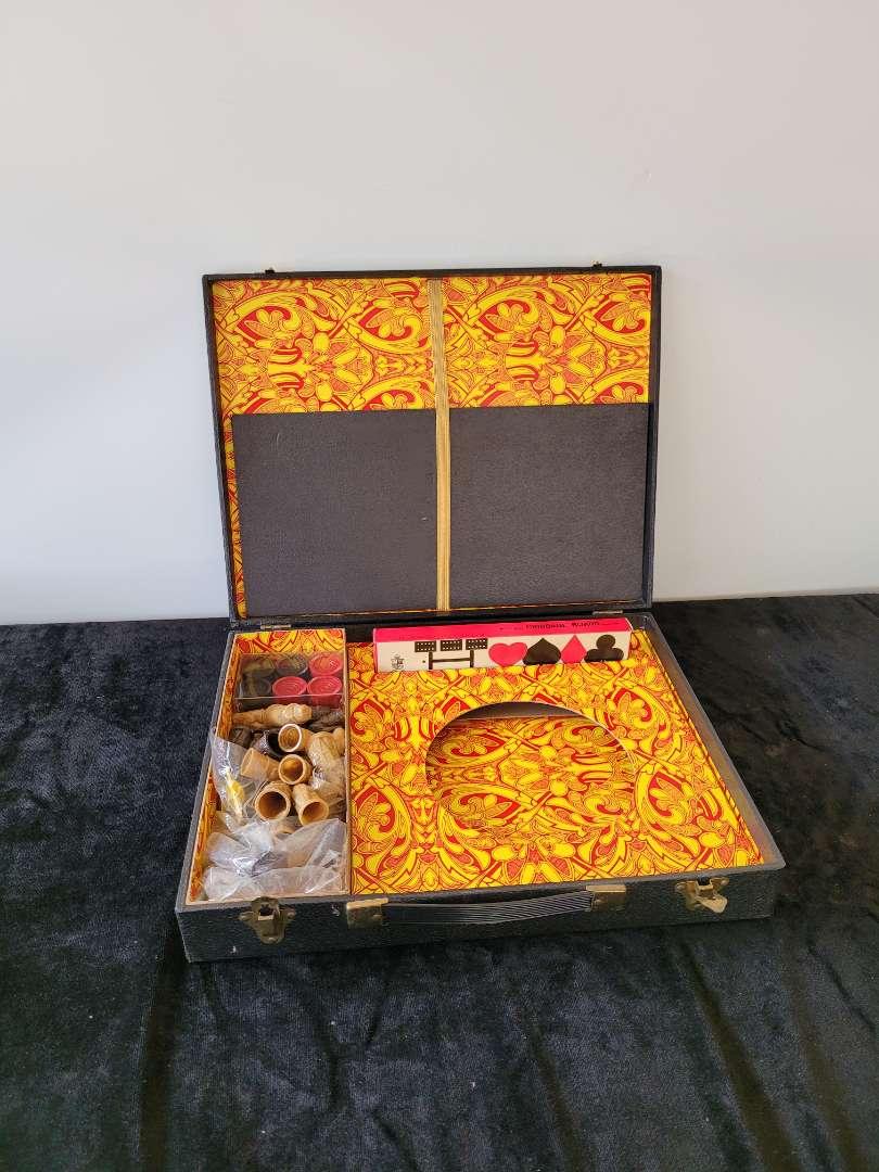 Lot # 73 Vintage Game Set in Carry Case