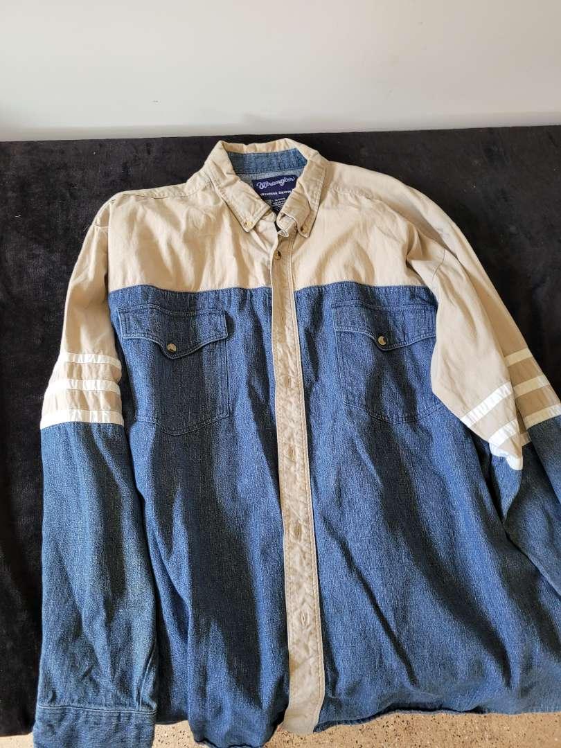 Lot # 74 Wrangler Western Shirt - Size XL