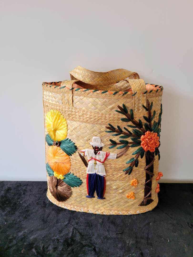 Lot # 84 Very Nice Hand Woven Tote