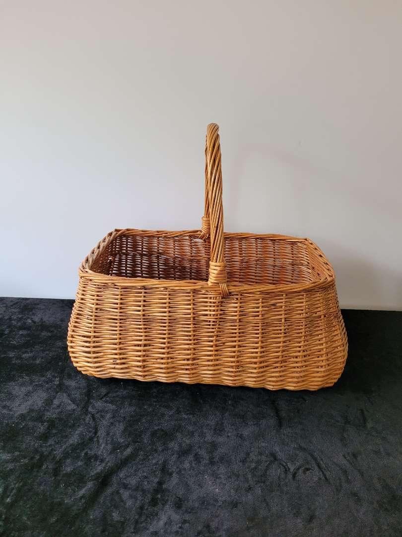 Lot # 89 Large Wicker Basket