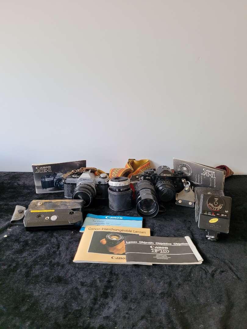 Lot # 90 Canon Cameras & Lenses