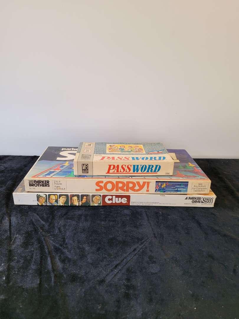 Lot # 118 (3) Vintage Board Games