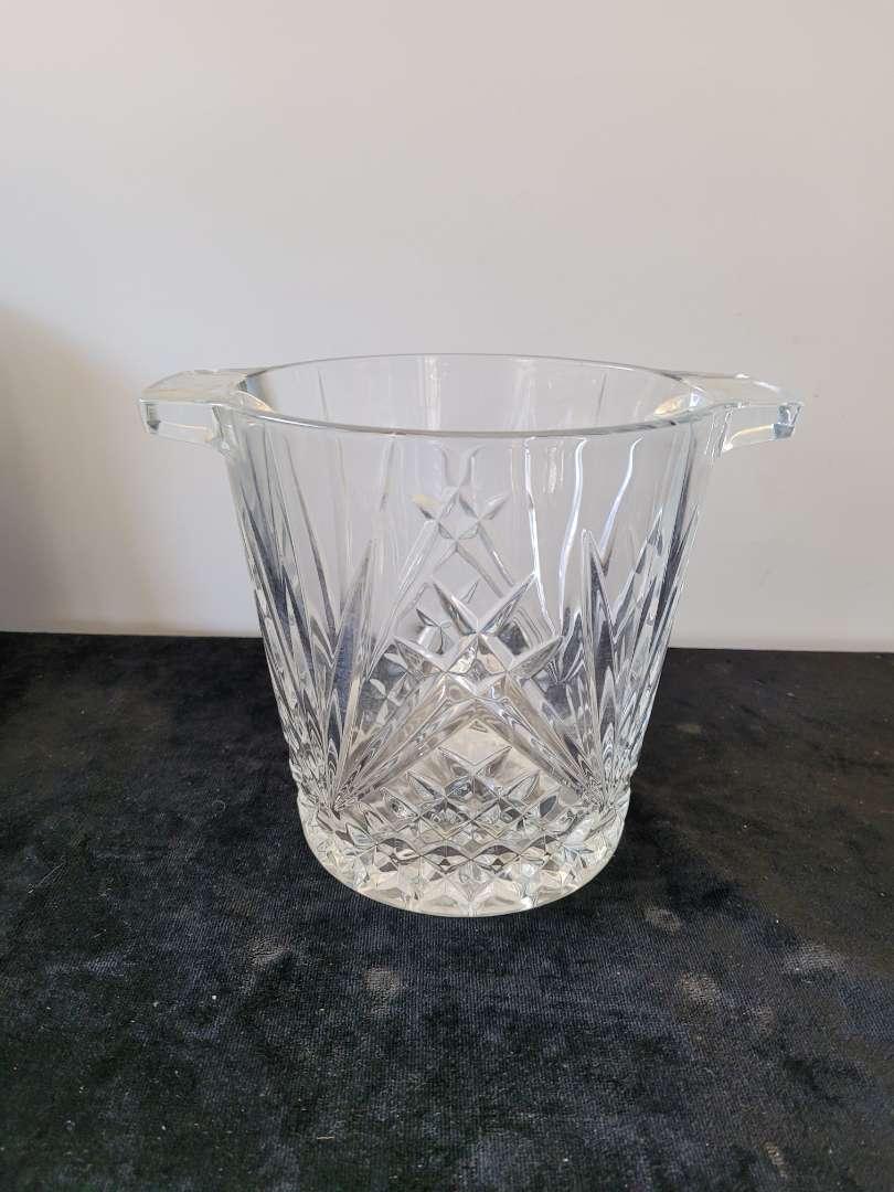 Lot # 136 Crystal Ice Bucket
