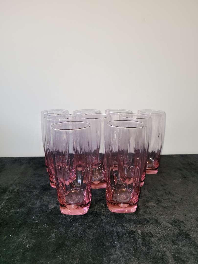 Lot # 138 (9) Pink Glasses