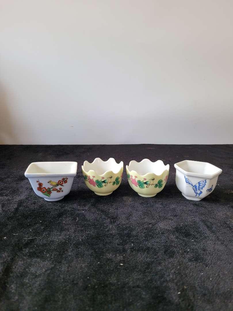 Lot # 141 (4) Sake Cups