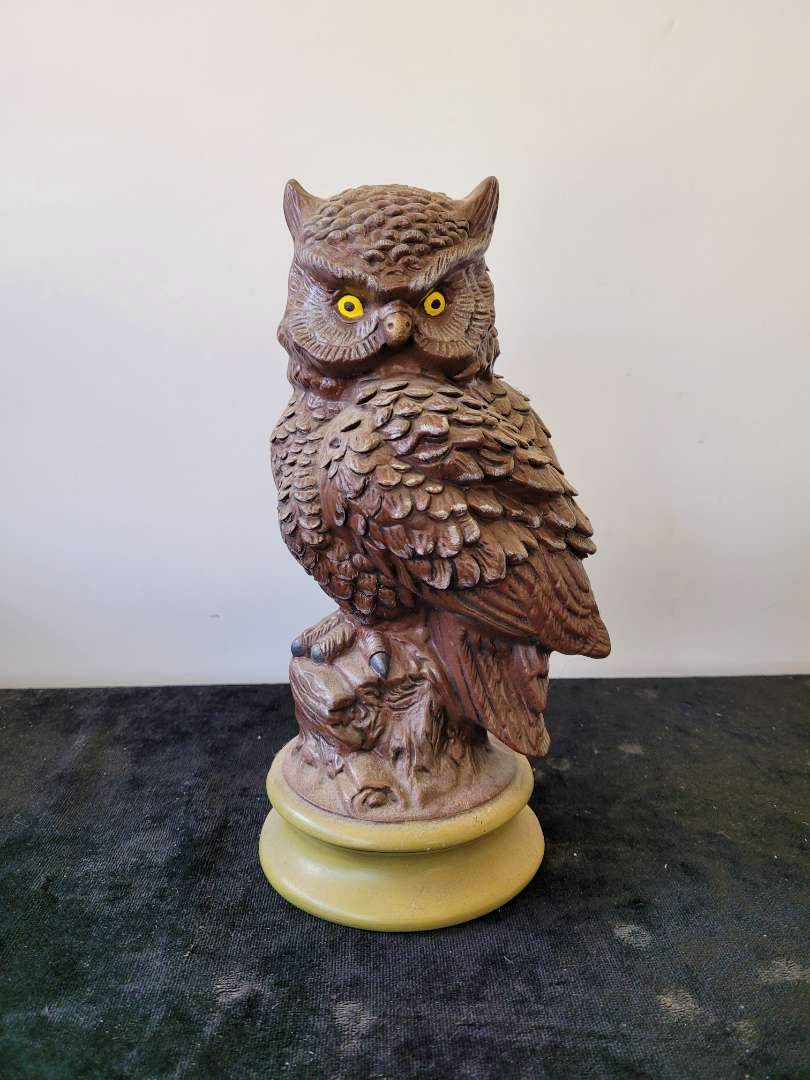 Lot # 146 Hand Made Owl- Signed