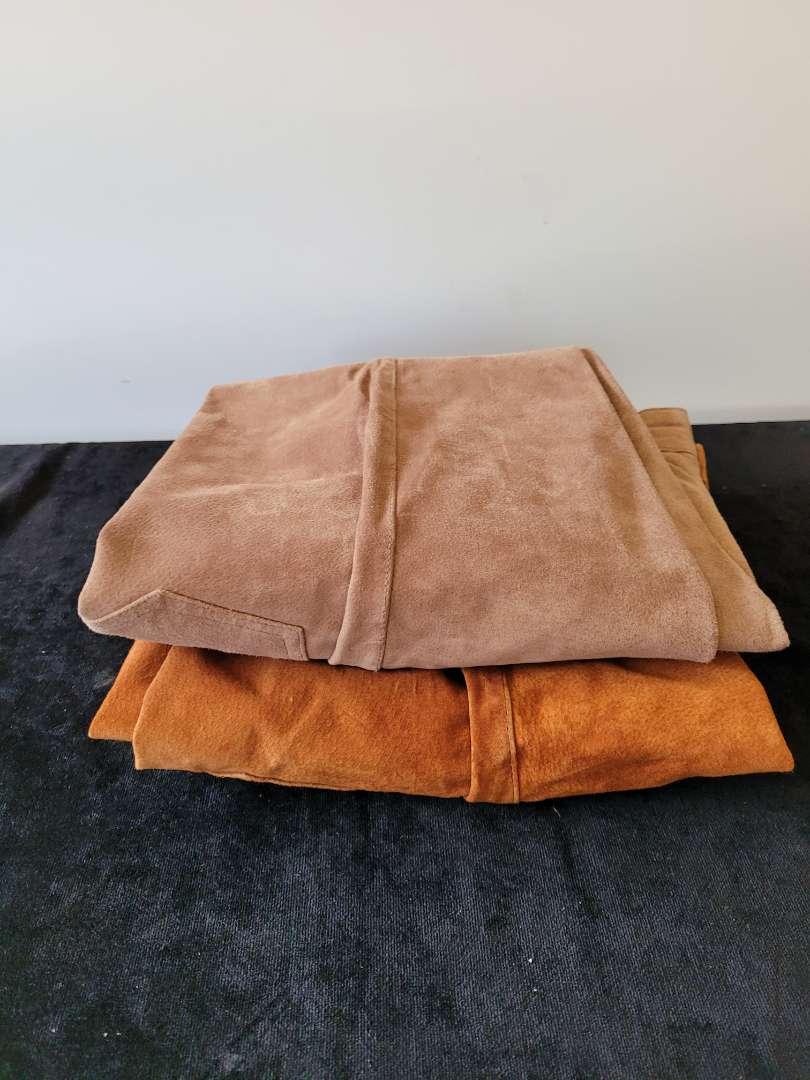 Lot # 161 (2) 100% Leather Pants