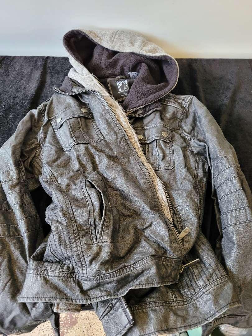 Lot # 165 Men's Genuine PX Hooded Jacket - Size Large