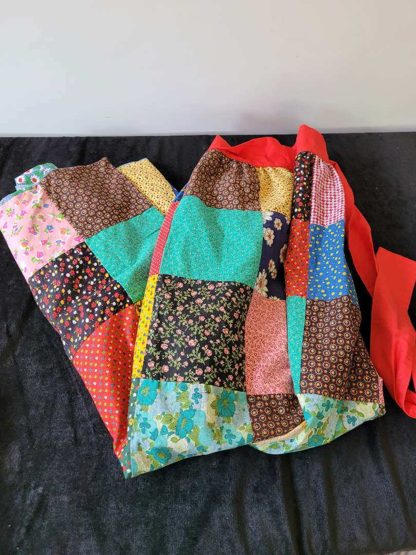 Lot # 167 Handmade Patchwork Apron - Double sided
