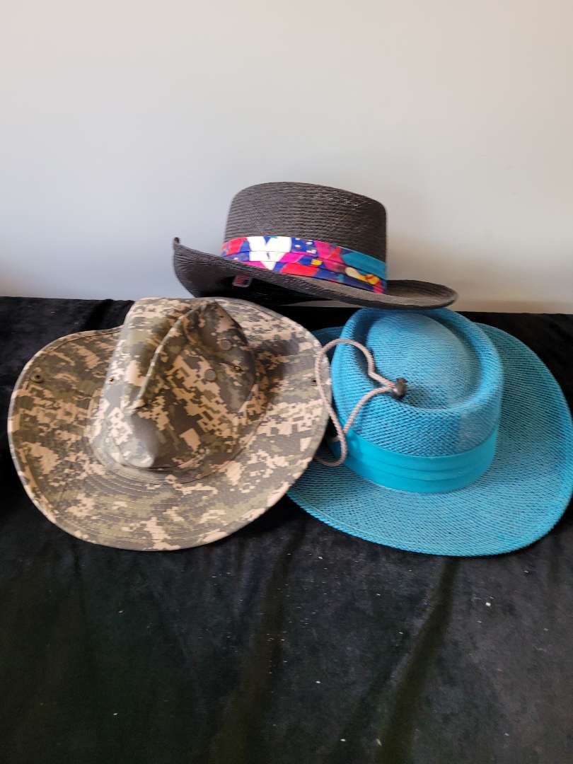 Lot # 177 (3) Nice Sun Hats