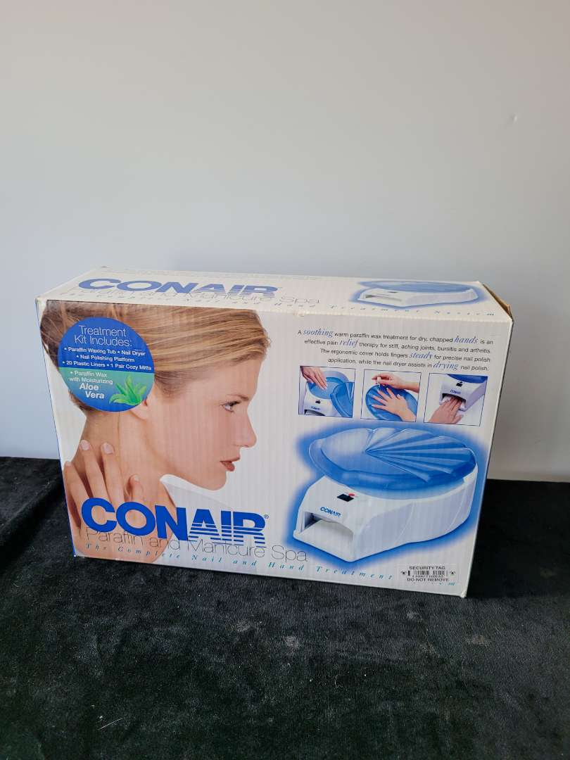 Lot # 186 Con Air parrifin and manicure spa - NIB