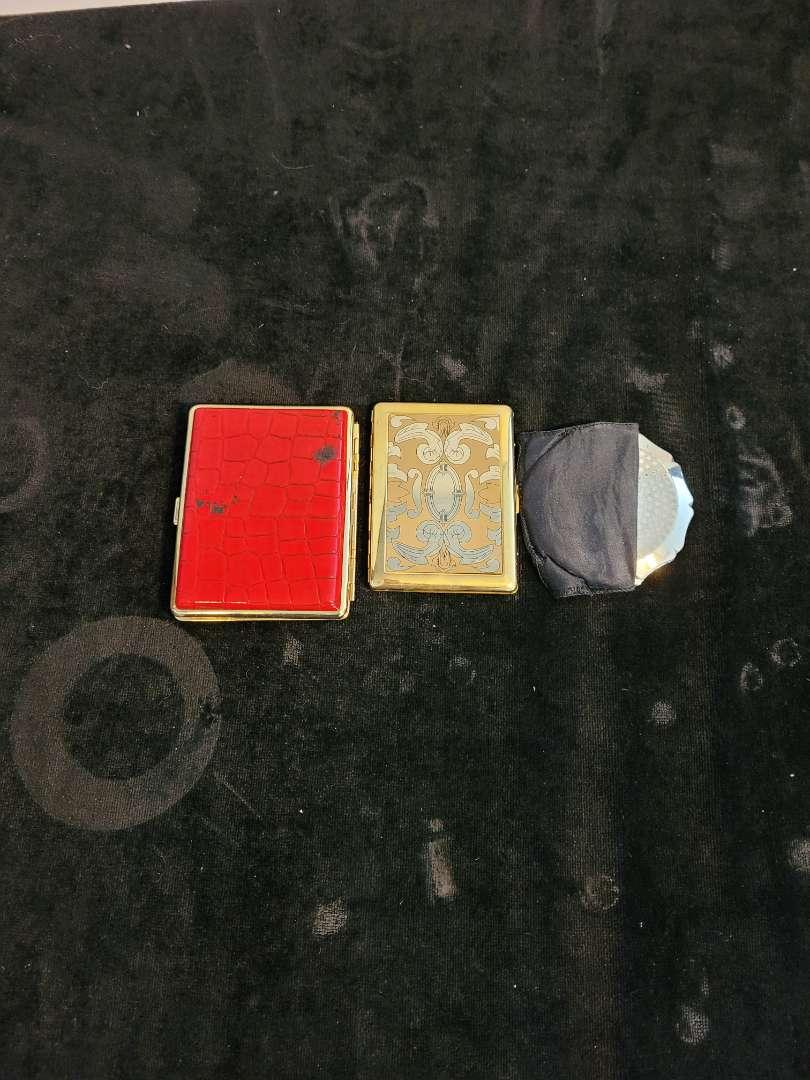 Lot # 193 (3) Vintage Compacts
