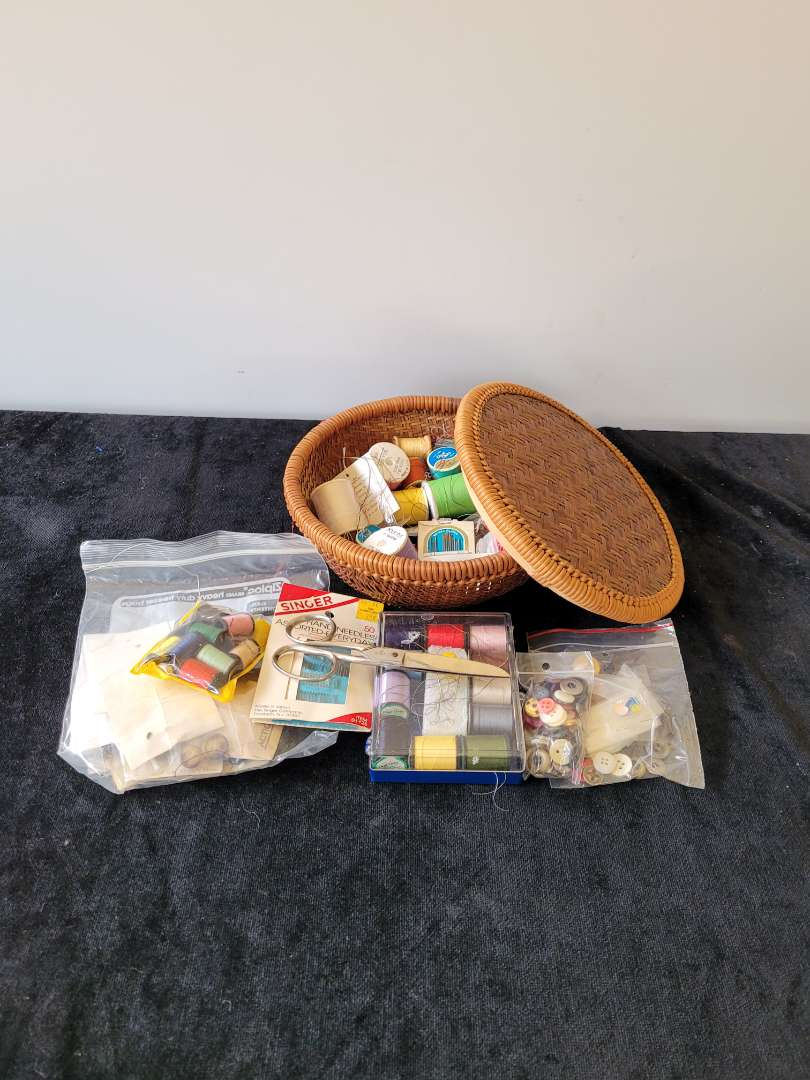 Lot # 213 Sewing Supplies