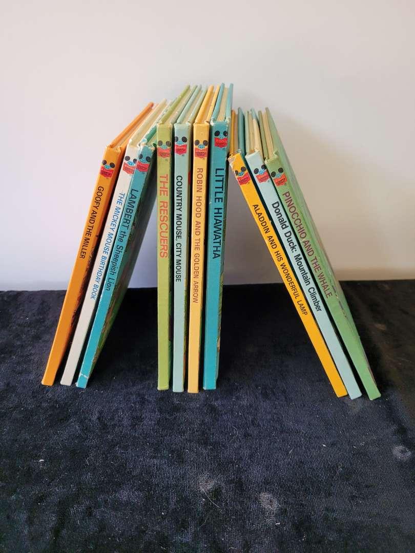 Lot # 224  Vintage 1978 Kids Books