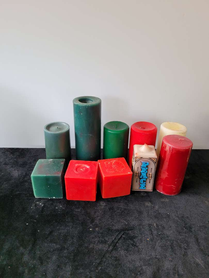 Lot # 227 (10) Large Candles