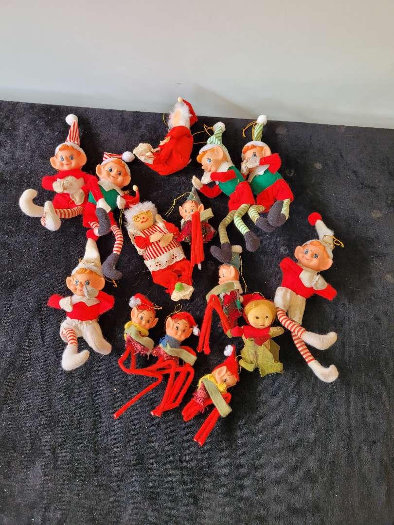 Lot # 229 Vintage Elf on A Shelf