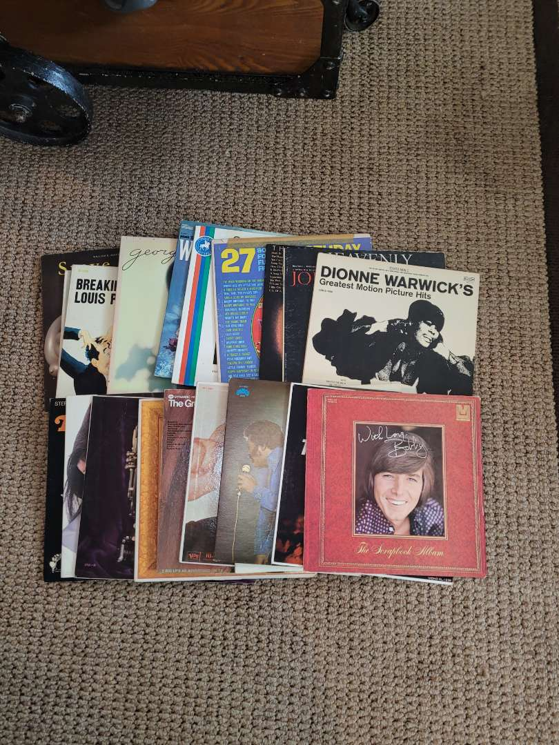 Lot # 237 Assorted Vintage Records